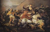 The 2nd of May 1808 in Madrid or The Fight against the Mamelukes, painted by Goya. Museo del Prado, Madrid.