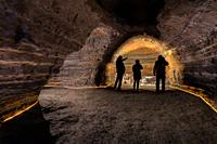 Caves of Hella, Iceland. Man made caves, could be made by Celts who inhabited Iceland before the official Norse settlement, late 9th century. . .
