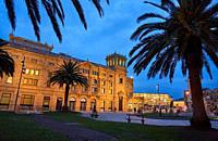 Victoria Eugenia Theatre, Okendo square, Donostia, San Sebastian, Gipuzkoa, Basque Country, Spain, Europe