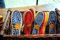 Espadrilles for dancing, Wedding banquet, Zumarraga, Gipuzkoa, Basque Country, Spain