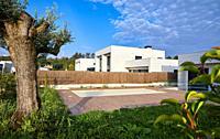 Villa with pool, Dulce María Loynaz Street, Donostia, San Sebastian, Gipuzkoa, Basque Country, Spain, Europe