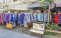 second hand clothes store, prenzlauer berg, berlin, germany.