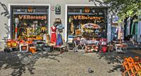 veb orange, gdr products, prenzlauer berg, berlin, germany.