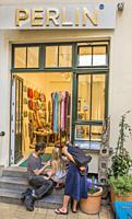perlin, pearl shop at hackesche hoefe, berlin, germany.