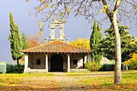 Ermita de San Blas. La Alberca. Sierra de Francia region. Salamanca province. Castilla y León. Spain