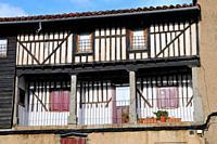 Traditional house. La Alberca. Sierra de Francia region. Salamanca province. Castilla y León. Spain