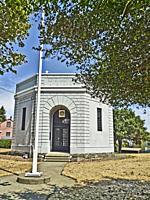 Veterans Memorial and Meeting Hall in Crockett, California. Built in 1925.