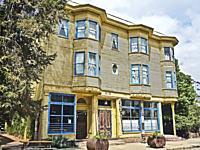 The Burlington Hotel, Port Costa, California. Built in 1883 this Victorian hotel has 19 rooms.