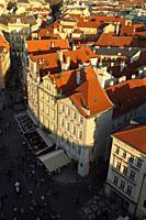 Prague (Czech Republic). Housing next to the Old Town Square (StaromÄ›stské námÄ›stí) of the city of Prague.