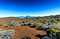 Piton des Neiges at Reunion Island.