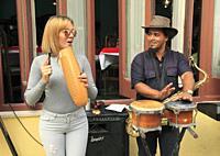 Cuba, Havana, musicians, people,.