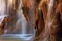 Cuervo river birth. Natural park Sierra Cuenca.