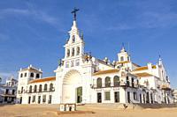 Sanctuary of Nuestra Señora del Rocío, El Rocío, Almonte, Huelva, Spain.