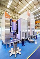 Machining Centre, CNC, Vertical turning and Milling lathe. Design, manufacture and installation of machine tools, Metal industry, Mechanical workshop,