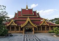 Mengle Temple in Jinghong - Xishuangbanna capital in Yunnan.