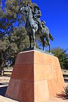 The Chief Trumpeter. Statue to honor the men who served in the Southwest during the Apache wars of 1870s and 1880s in Arizona.