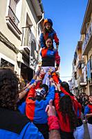 Muixeranga. Picanya, València. Spain. 2020.