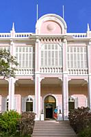 Palacio do Povo Museum, former Government Palace, Mindelo, Sao Vicente, Cape Verde Islands, Africa.