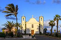 Our Lady of Deliverance Church, Ponta do Sol Village, Ribeira Grande Municipality, Santo Antao, Cape Verde Islands, Africa.