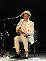 Madrid, February 28th: Musician and composer Goran Bregovic and his band perform at Sala La Riviera on February 28th, 2020 in Madrid, Spain. (Photo by...
