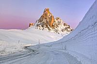 Passo di Giau, Veneto, Dolomites, Italy, Europe.