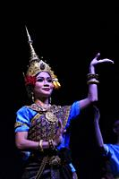 Traditional Cambodian dancer,Phnom Penh,Cambodia,South East Asia.