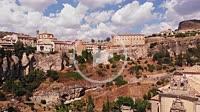 Aerial view of Cuenca, Spain