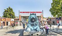 filmpark babelsberg, babelsberg film studio, potsdam ,brandenburg, germany.