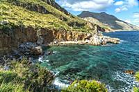 Bucht im Naturreservat Zingaro, Sizilien, Italien, Europa | bay of the Zingaro Natural Reserve, Sicily, Italy, Europe.