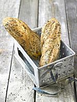 pan de lino / linen bread