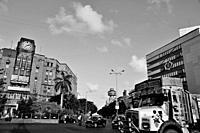 Churchgate Railway Station, Industrial Assurance Building, Bombay, Mumbai, Maharashtra, India, Asia