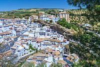 Setenil de las Bodegas, Andalucia, Spain, Europe.