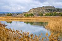 Lake. Pareja, Guadalajara province, Castilla La Mancha, Spain.