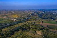 Long view of Castle La Rocca, Solferino, Italy.