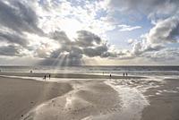 Beach, Sankt Peter-Ording, Schleswig-Holstein, Germany, Europe.