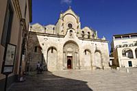 Church of John the Baptist, Matera, Basilicata, Italy.