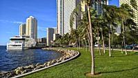 Bayfront Park. Miami. Florida. USA.