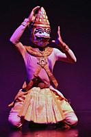 Traditional Cambodian dancer, Sovannaphum Theater,Phnom Penh,Cambodia,South East Asia.