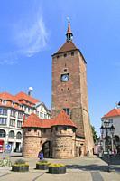 Jakobsplatz, Nuremberg, Bavaria, Germany.