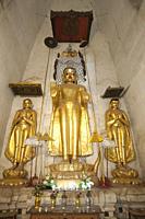 Nagayon temple, Old Bagan village area, Mandalay region, Myanmar, Asia.