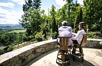 Rombauer Vineyards, Longtime family-owned winery offering by-appointment tastings & tours, plus a garden picnic area. Napa Valley, California.
