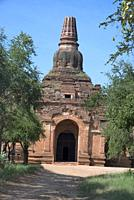 Myanmar: Bagan- Horizontal General-View of Patho-hta-mya- Hpaya circa. Early 11th. century A. D.