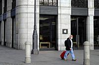 Lockdown in Madrid during state of Emergency in Spain due to Coronavirus.