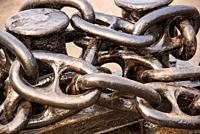 big metal chains