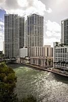 The Miami River. Miami. Florida. USA.