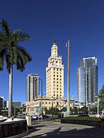The Freedom Tower. Downtown Miami. Florida. USA.