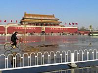 Tiananmen Gate of The Forbidden City. . Tiananmen Square. Beijing. China.