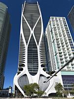 Biscayne Boulevard Buildings. Miami. Florida. USA.