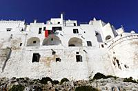 Walled town of Ostuni, Puglia, Italy.