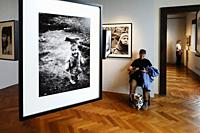 Exhibition by photographer Ferdinando Scianna, Venice, Italy.